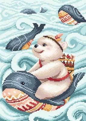 Изображение Мишка и кит