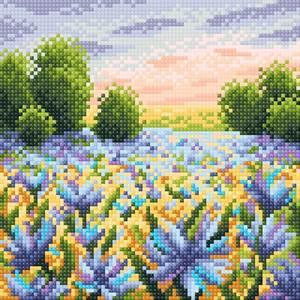 Изображение Васильковое поле