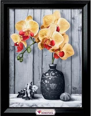 Изображение Орхидея на мраморе