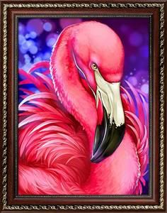 Изображение Яркий фламинго