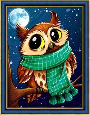 Изображение Совенок в шарфе