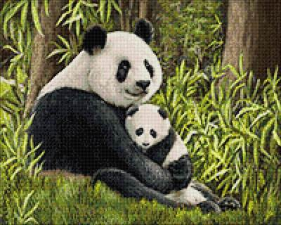 Изображение Мама панда