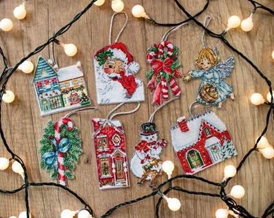 Изображение Набор рождественских игрушек № 2 (Christmas Toys Kit nr.2)