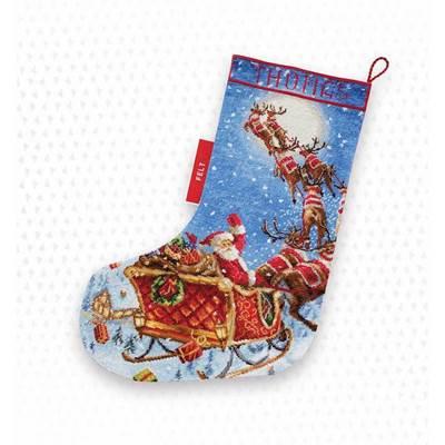 Изображение Олени в пути! (The Reindeers on it's way! Stocking)