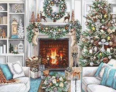 Изображение Рождественский Интерьер