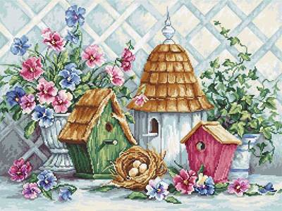 Изображение Гнёздышко в саду